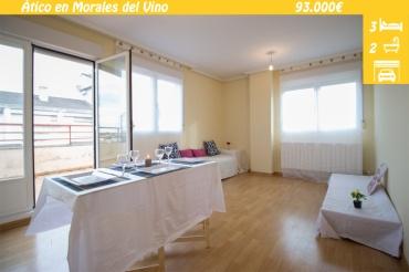 Ático en venta con terraza en Morales del Vino - Zamora
